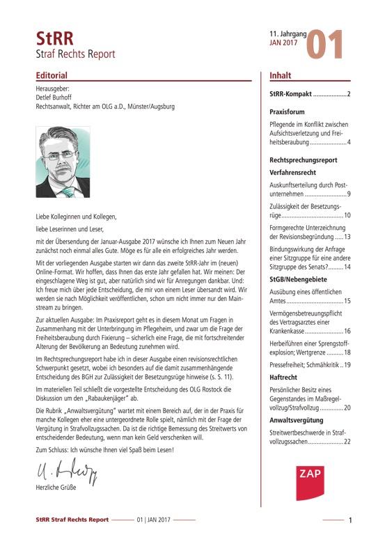StrafRechtsReport